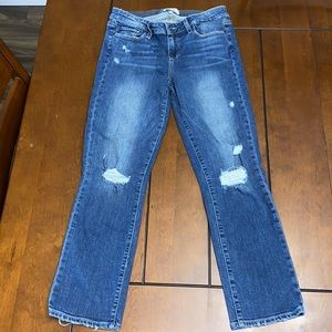 Paige Miki Straight distressed jean size 29